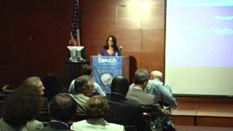 Thumbnail for entry Baruch College/NIRI NY Proxy Reform Panel