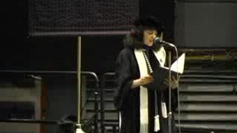 Thumbnail for entry Baruch College Commencement (2005): Investiture of Kathleen Waldron