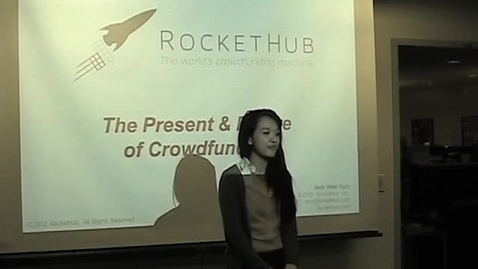 Thumbnail for entry RocketHub, the Present and Future of Crowdfunding