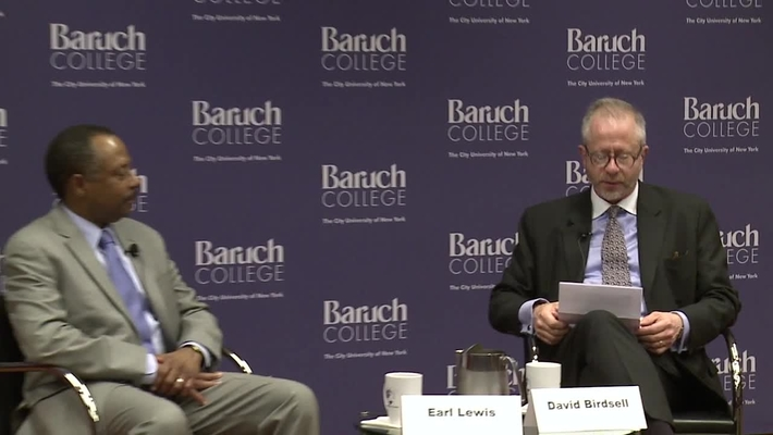 Conversation with Dr. Earl Lewis, President of The Andrew W. Mellon Foundation