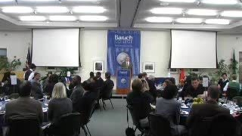 Thumbnail for entry Baruch Athletic Hall of Fame Induction 2008