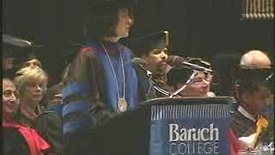 Thumbnail for entry Baruch College Commencement (2006): Charles Rangel