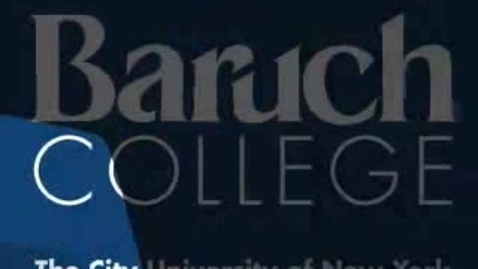 Thumbnail for entry Baruch College Commencement (2009): Valedictorian Arthur Lotz