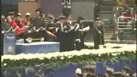 Thumbnail for entry Baruch College Commencement (2006): Alma Mater