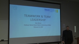 Thumbnail for entry 2019 CUNY IBM Watson Case Competition : Teamwork and Leadership