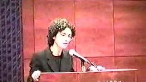 Thumbnail for entry Writer-In-Residence: Jane Kramer