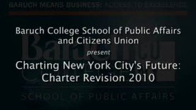 Charting New York City's Future: Charter Revision 2010