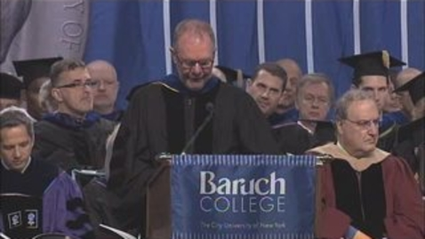 Thumbnail for entry Baruch College 47th Commencement Valedictory Address by Devorah Lebovic