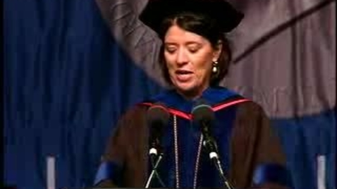Thumbnail for entry Baruch College Commencement (2007): President Address