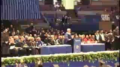Thumbnail for entry Baruch College Commencement (2004): Conferral of Degrees