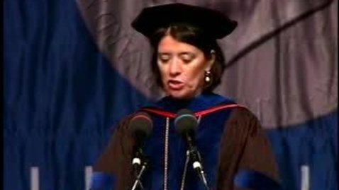 Thumbnail for entry Baruch College Commencement (2007): Presidential Excellence Awards