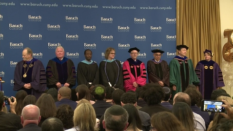 Thumbnail for entry Baruch College Student Achievement Awards 2019
