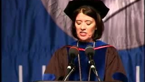 Thumbnail for entry Baruch College Commencement (2007): Kathleen M. Pesile