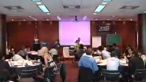Thumbnail for entry Larry Zicklin Speaks Ethics at MBA Orientation 2009