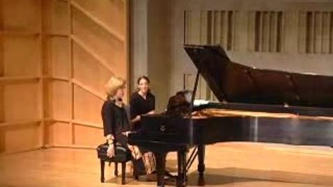 Thumbnail for entry Silberman Concert Series Presents Sara Davis Buechner