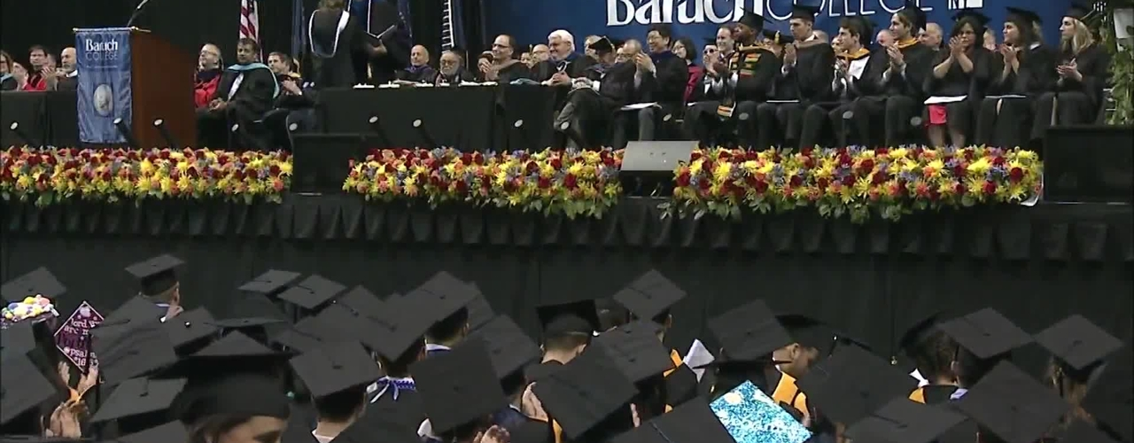 Baruch College 52nd commencement exercises (2017). Part 3 of 3