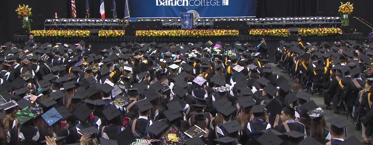Baruch College 52nd commencement exercises (2017). Part 1 of 3