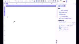 Thumbnail for entry Introduction to Microsoft Word 2003: Starting A New Document