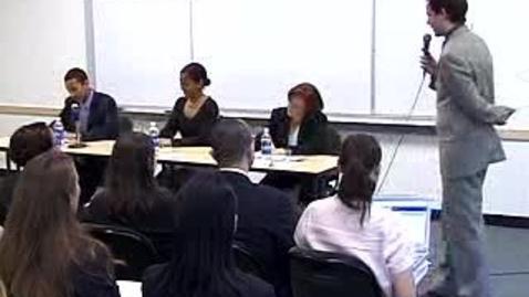Thumbnail for entry Career Week (2004): Recruiter Panel