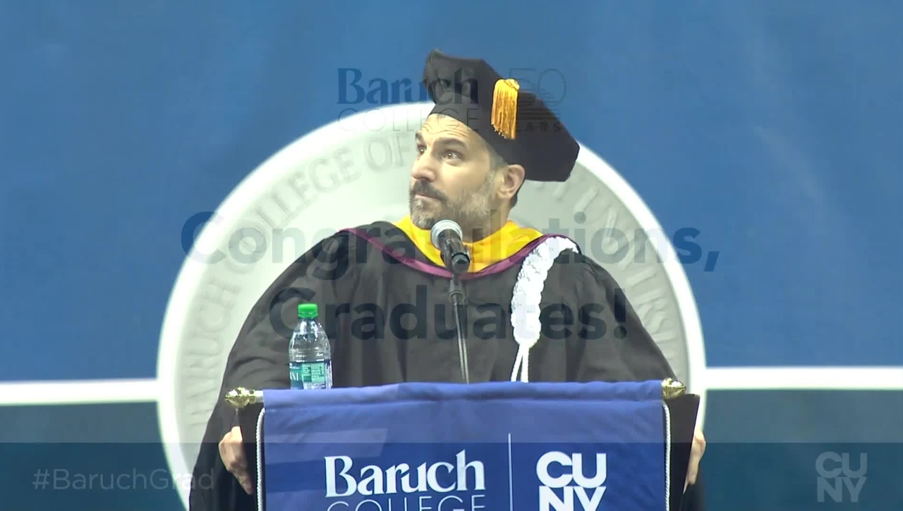 Baruch College 54th commencement exercises (2019) (Campus Access Only)