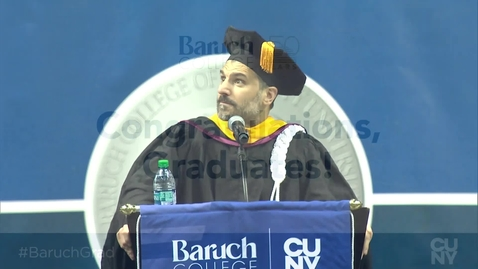 Thumbnail for entry Baruch College 54th commencement exercises (2019) (Campus Access Only)