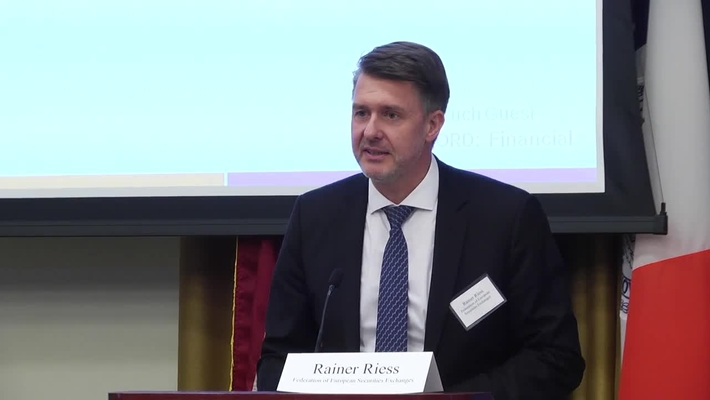 Liquidity : How to Find it, Regulate it, Get it. Opening Address: Rainer Riess