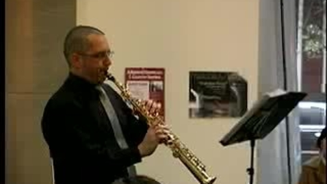 Thumbnail for entry Milt Hinton Jazz Perspectives Concert: Sax in the City