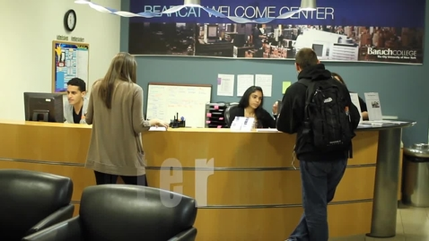 Thumbnail for entry Admissions: Welcome Center