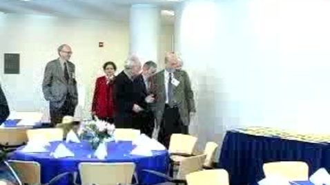 Thumbnail for entry Alumni Reunion (2006): Awards and Honors