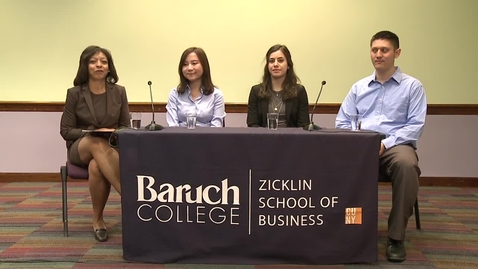 Thumbnail for entry Zicklin School of Business MBA Virtual Information Session
