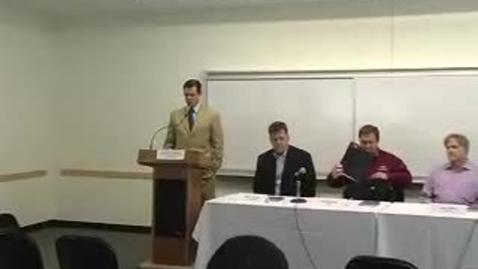 Thumbnail for entry Career Week (2007): Entrepreneurship Panel