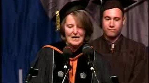 Thumbnail for entry Baruch College Commencement (2007, Morning Session): Degree Award, Weissman School of Arts and Sciences