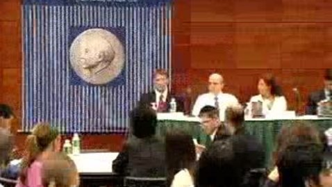 Thumbnail for entry Career Week (2006): Finance Panel