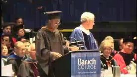 Thumbnail for entry Baruch College Commencement (2004): Presentation of Graduate Class Gift