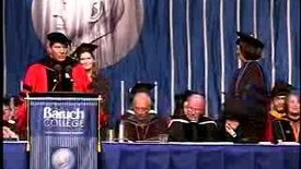 Thumbnail for entry Baruch College Commencement (2007, Afternoon Session): Degree Award, Zicklin School of Business