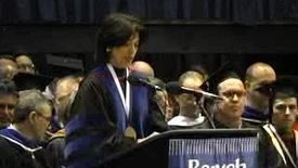 Thumbnail for entry Baruch College Commencement (2005): Awards