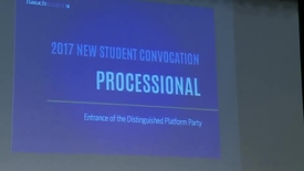 Thumbnail for entry Baruch College Convocation (2017)