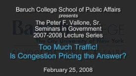 Too Much Traffic: Is Congestion Pricing the Answer?