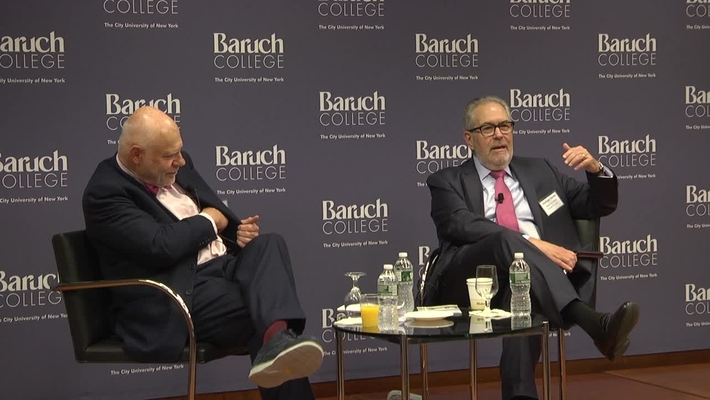 Fireside chat with Francis Greenburger, Interviewed by Michael Stoler