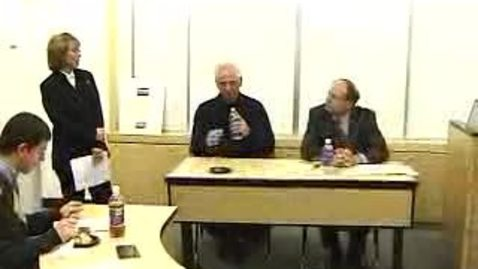 Thumbnail for entry Executives on Campus (2005): Hank Schram and Philip Terenzio on Accounting Careers