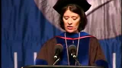 Thumbnail for entry Baruch College Commencement (2007): Keynote Speaker William E. Macaulay