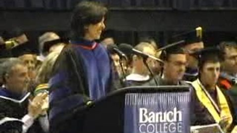 Thumbnail for entry Baruch College Commencement (2005)