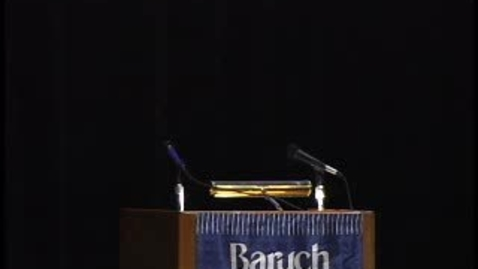 Thumbnail for entry Baruch College Convocation (2009)