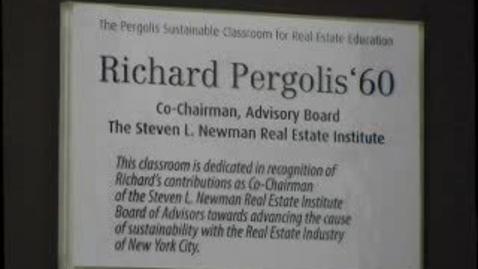 Thumbnail for entry Dedication of the Pergolis Urban Classroom