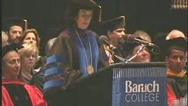 Thumbnail for entry Baruch College Commencement (2006): Class Gifts