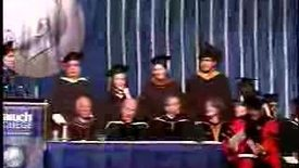 Thumbnail for entry Baruch College Commencement (2007, Afternoon Session): Conferral of Degrees