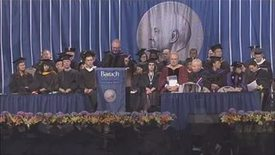 Thumbnail for entry Baruch College 47th Commencement Salutatorian Address by Corey Trippiedi