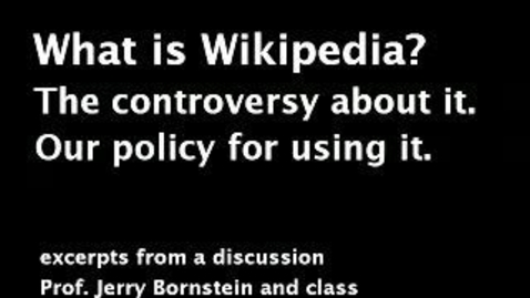 Thumbnail for entry Wikipedia