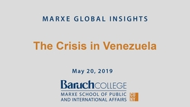 Thumbnail for entry The Crisis in Venezuela