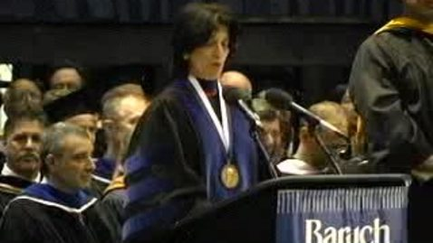 Thumbnail for entry Baruch College Commencement (2005): Conferral of Degrees